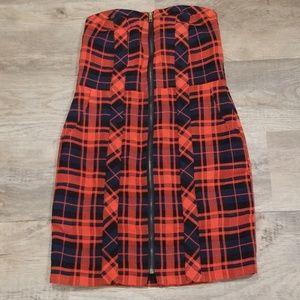 ‼️2/$12‼️Plaid Dress with pockets